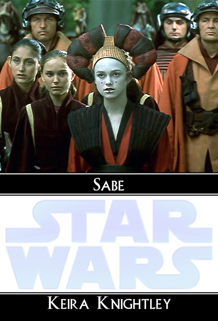 Natalie Portman And Keira Knightley In Star Wars. Amidala in Star Wars: This