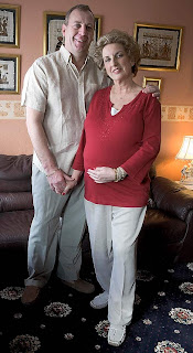 Susan Tollefsen, pregnant at 57