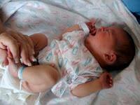 babys first diaper change