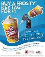Free Wendys Frosties for a Year