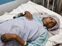 Omkari Panwar, 72, gave birth to twins last week in India