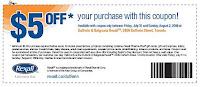 Another $5 Rexall Coupon - Toronto