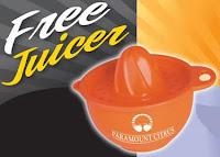 Free Plastic Juicer