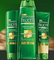 Free Garnier Fructis Shampoo & Conditioner