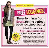 Free Pair of Leggings at Sears
