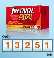 Free Tylenol Extra Strength SZ Tabs