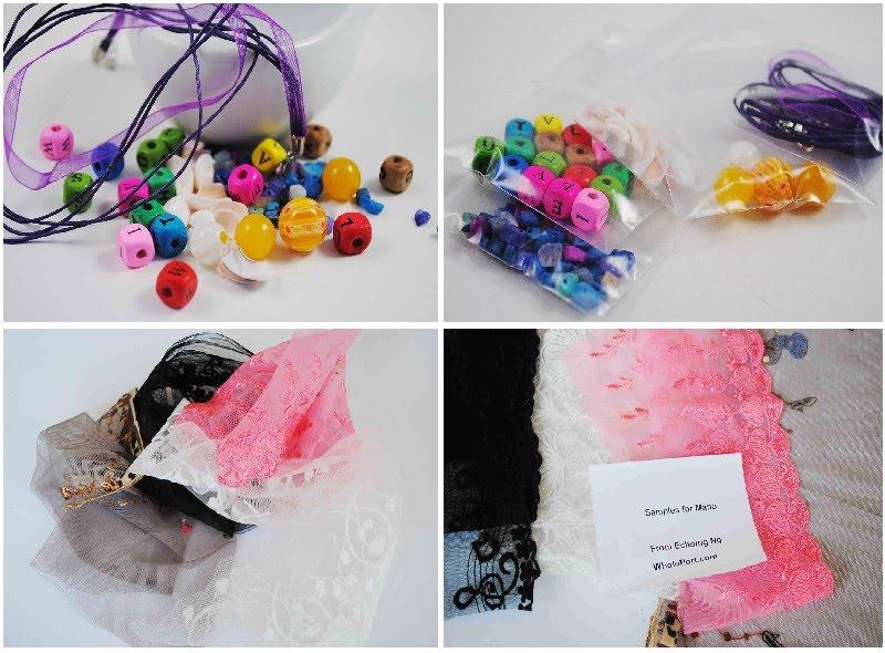 Craft supply freebies