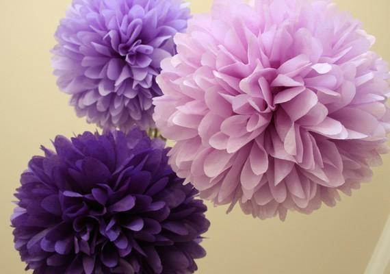 ENTRE MIM E VOC u00ca NÓS PAPEL CREPOM decoraç u00e3o para casamento buques cores lilás azul  -> Decoraçao De Parede Com Papel Crepom