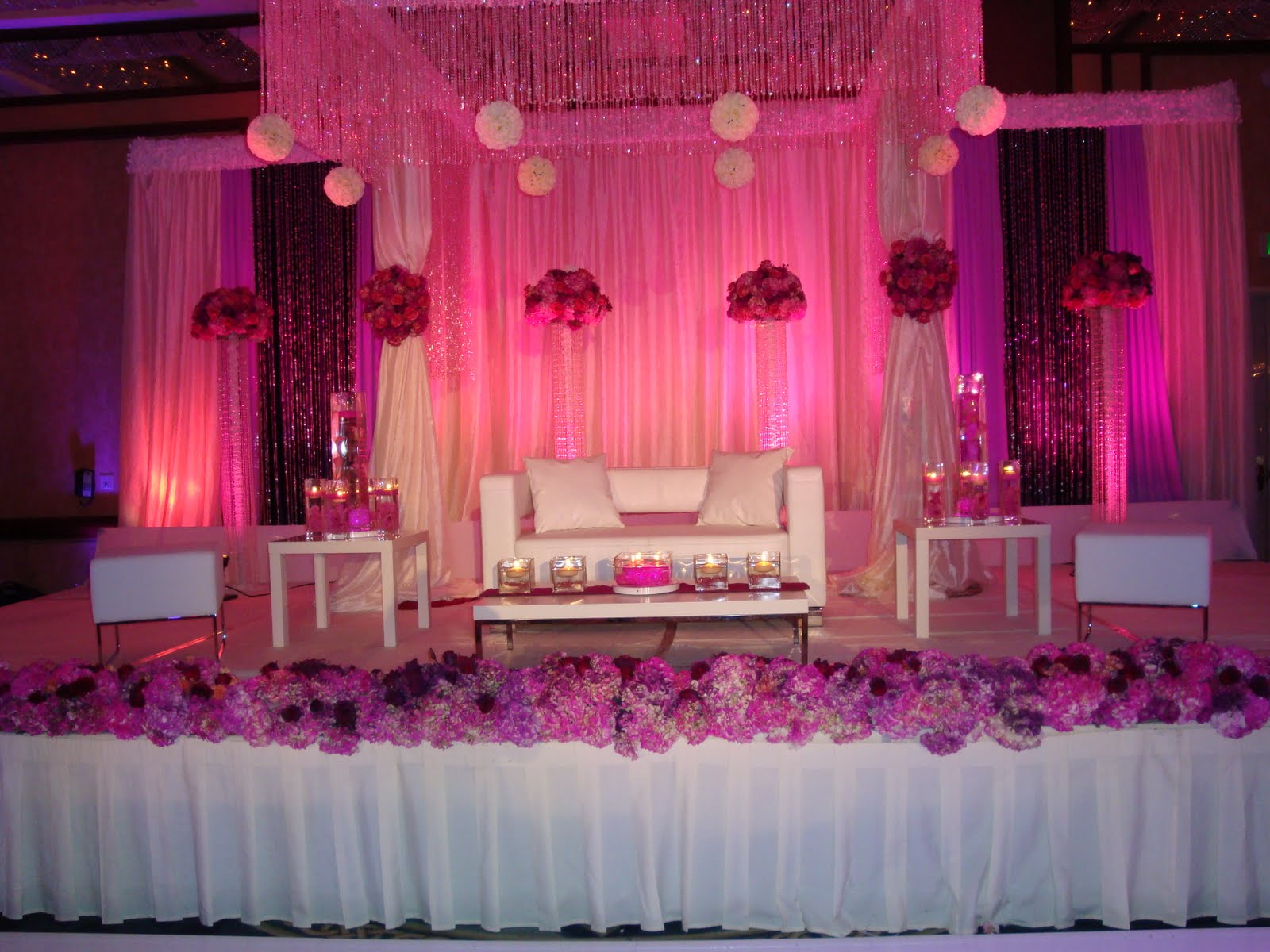 Entertaining from an ethnic indian kitchen indian wedding for Muslim wedding home decorations
