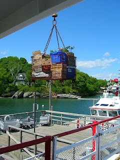 mail deliveries on Little Diamond Island