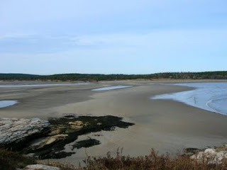 Popham Beach, Maine