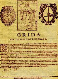 Piacenza antica Grida