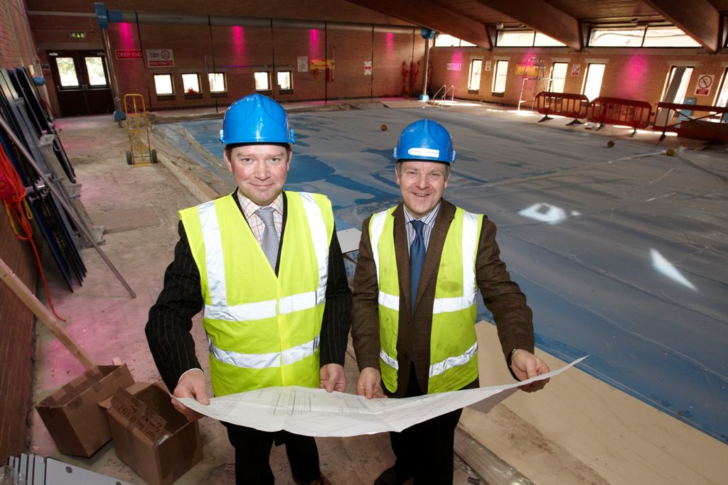 Latest news free swimmers making a splash as scott hall pool gets ready to reopen for Swimming pools leeds city centre