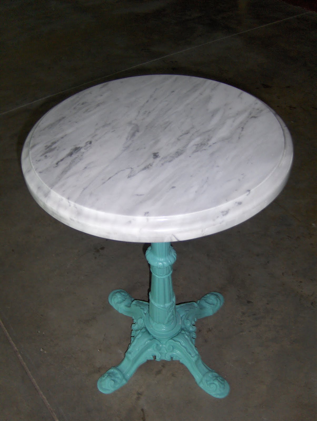 An Adorable Marble Side Table