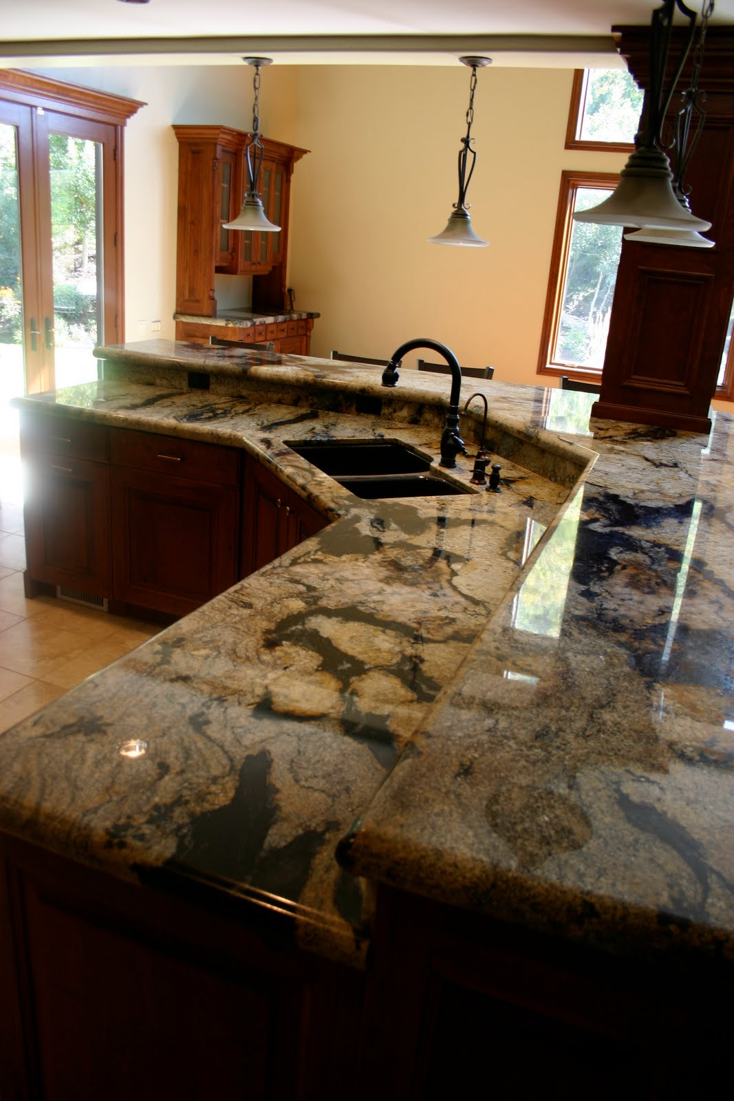 The granite gurus spectrus granite kitchen from mgs by design - Granite kitchen design ...