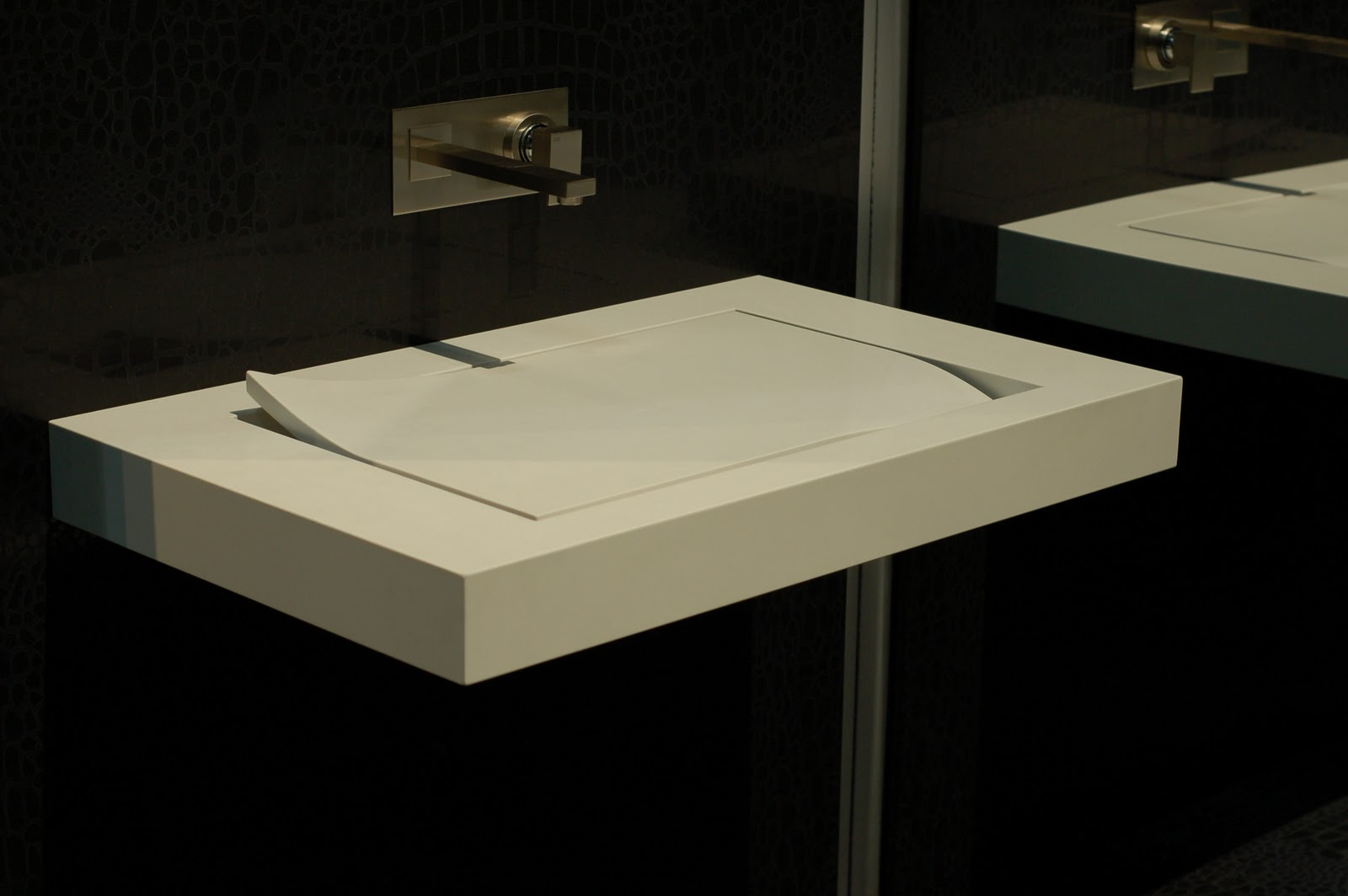 The granite gurus stunning vessel sinks from sonobath using caesarstone - Caesarstone sink kitchen ...