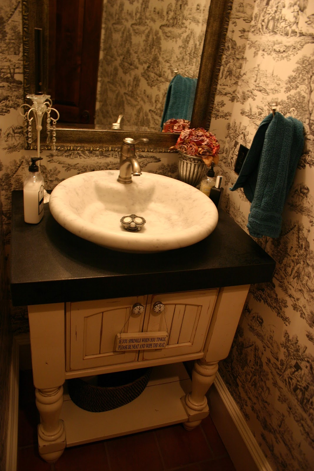 The Granite Gurus: Cambrian Black Satin Finish Vanity