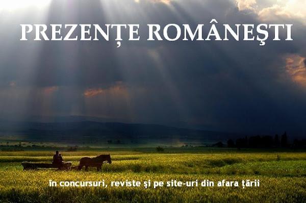 PREZENŢE ROMÂNEŞTI