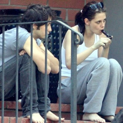 robert pattinson e kristen stewart. robert pattinson