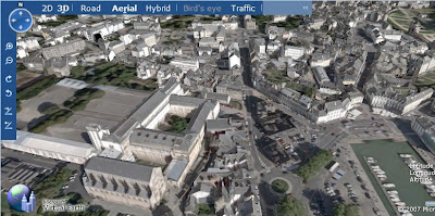 vannes dans virtual earth