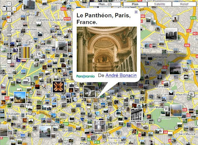 panoramio dans google maps