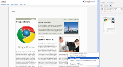 PDF Viewer dans Google