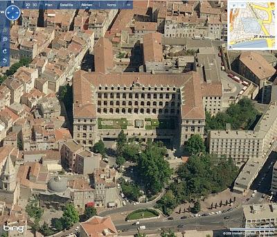 Marseille dans Bing Maps