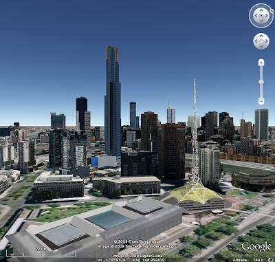 Melbourne en trois dimensions
