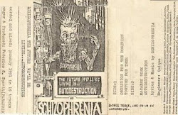 DESCARGA: Schizophrenia - The Future We'll Be Living in... Autodestruction (Bs. As. - 1991)