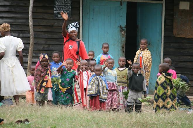 Daycare in Maasailand.