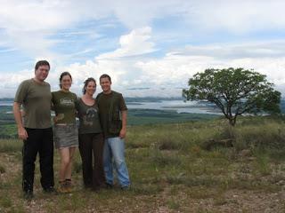 Participantes da viagem