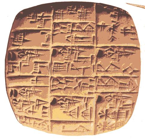 Los números babilonios