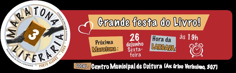 Maratona Literária | Porto Alegre | RS