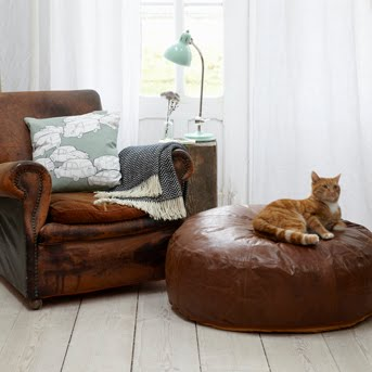 Large Leather Floor Pillows : 1000+ images about LEATHER on Pinterest
