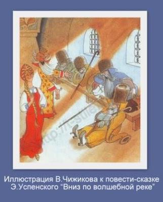 Воротник-козырь на иллюстрации В.Чижикова к сказке Э.Успенского