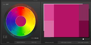 Сервис подбора цветовых сочетаний
