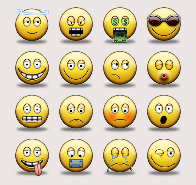 Kode smiley facebook emotion fb chat