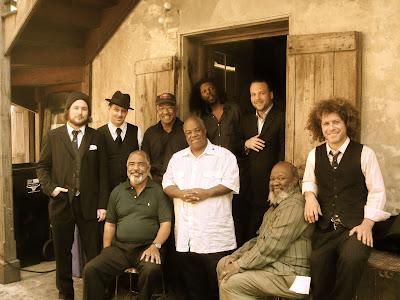 Jim James with the Preservation Hall Jazz Band