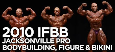 Jacksonville pro bodybuilding contest 2010 with David Henry, jaroslav horvath