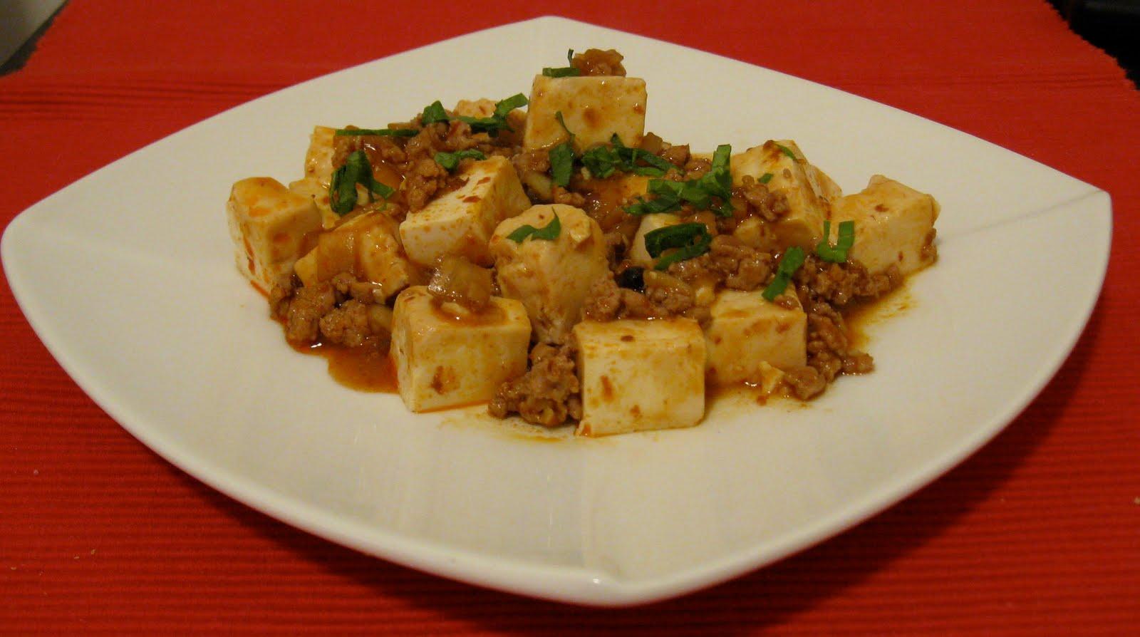 Working Lunch: Mapo tofu