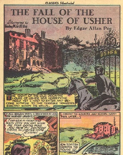 an analysis of the melancholy house of usher in the fall of the house of usher by edgar allan poe Within view of the melancholy house of usher the fall of the house of usher by edgar allan poe analysis finds 21 percent of milwaukee city employees.