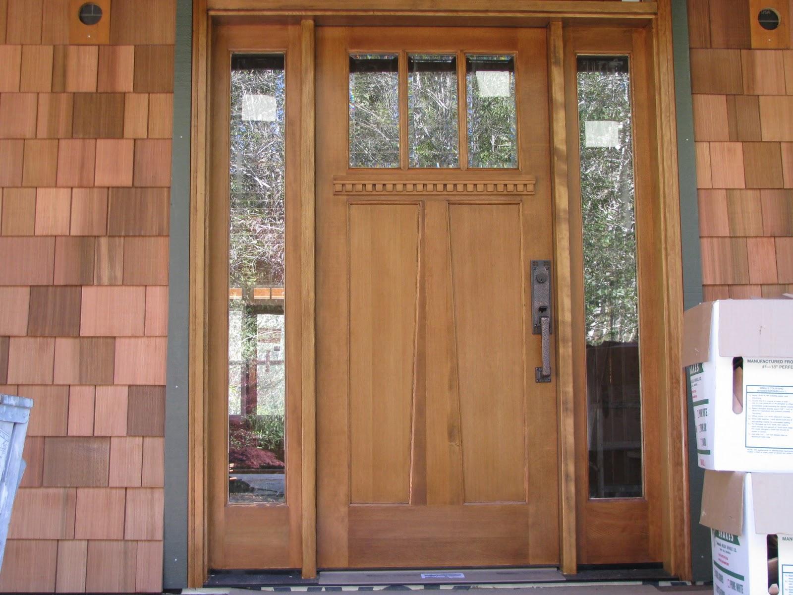 1200 #76462A News Is The Door Looks Great. It Is A Simpson Door In Douglas Fir  save image Simpson Fir Doors 41971600