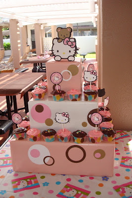 paper kisses hello kitty baby shower