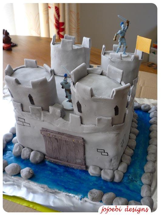 jojoebi designs The Castle Cakepart I