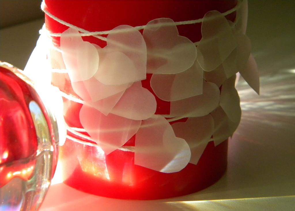 etceteras valentine candle