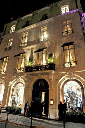 Claralamode ralph lauren on the boulevard saint germain - Ralph lauren restaurant paris ...