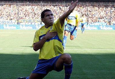 Carlos Tevez Boca Juniors formasıyla