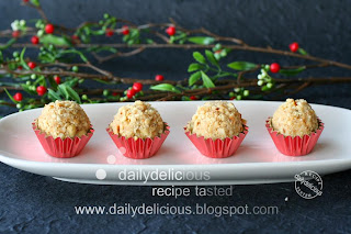 Double delicious: Mocha Hazelnut Truffles: Little treats for a peace ...