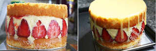Strawberry Drip Cake Recipe