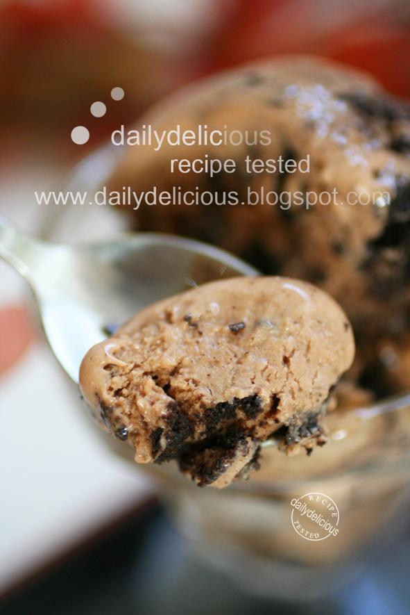 Cookie Crunch Ice Cream Cake